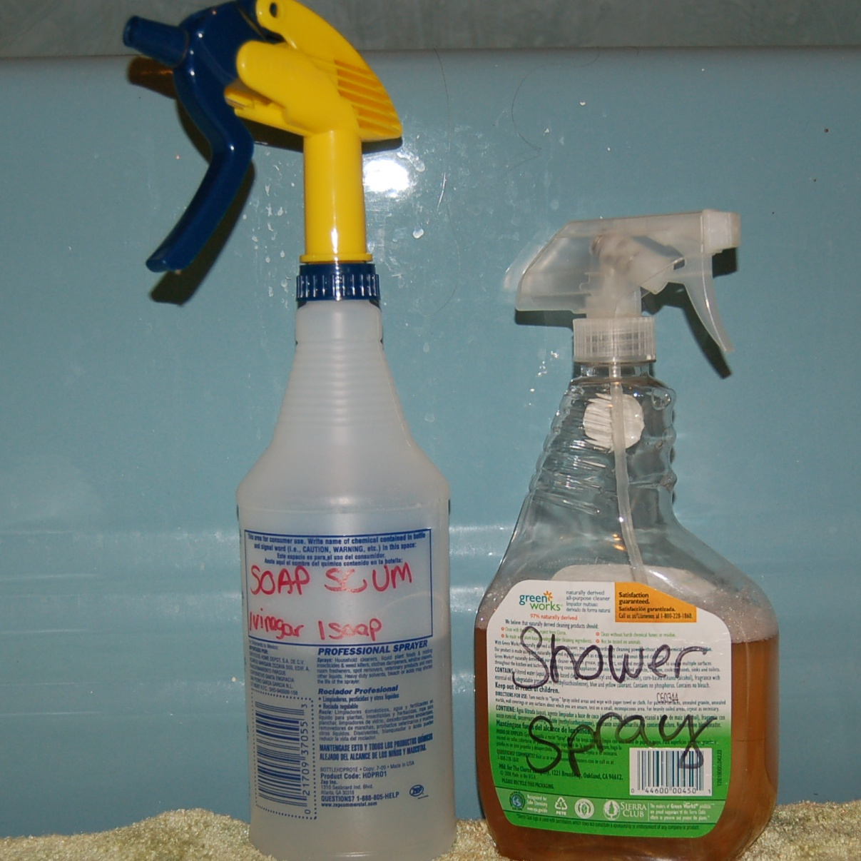 Homemade Bathroom Cleaners – Homestead Houligan