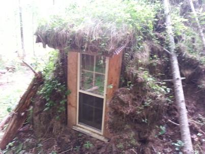 Natural Hut Window