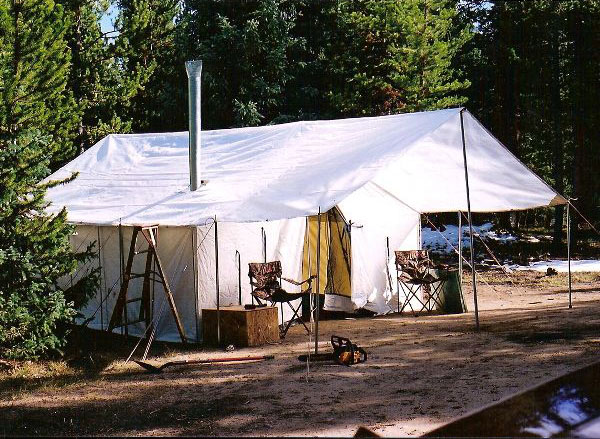 Wall tent plans building a new england homestead for How to build a wall tent